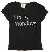 Ppla Girls 7-16) I Hate Mondays Tee