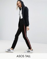 ASOS Tall ASOS TALL Cigarette Pants With Side Stripe