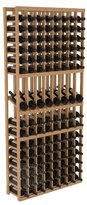 Wine Racks America Ponderosa Pine 8 Column Display Row Cellar Kit. 13 Stains to Choose From!