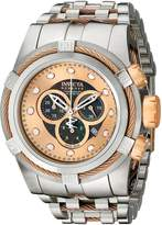 Invicta Men's 0823 Bolt Reserve Chronograph Dial Stainless Steel Watch