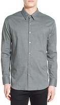 James Perse Men's Flannel Chambray Sport Shirt