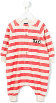The Animals Observatory - striped body - kids - Cotton/Polyester - 6 mth