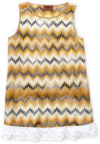 Missoni Girls 4-6x) Zigzag A-Line Knit Dress