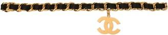 Charm & Chain Chanel Pre-Owned Jumbo CC charm chain belt