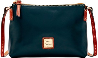 Dooney & Bourke Wexford Leather Crossbody Pouchette