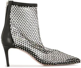 Schutz Gilda crystal boots