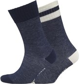 Levi's Stripe Two Pack Socks Indigo