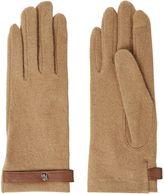 Lauren Ralph Lauren Metal Logo Belted Glove