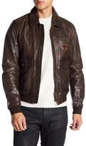 Belstaff Kingstone Leather Bomber Jacket