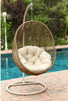 Bungalow Rose Moua Swing Chair with Stand