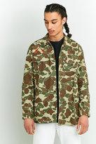 Levi's Camo Military Shirt Jacket