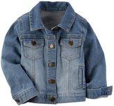 Carter's Toddler Girl Stretchy Denim Jacket