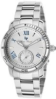 Lucien Piccard Women's LP-40031-22S Misty Rose Analog Display Japanese Quartz Silver Watch