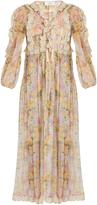 Zimmermann Valour floral-print silk-crepon dress