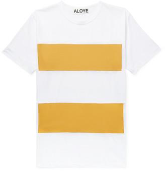 Aloye Slim-Fit Colour-Block Cotton-Jersey T-Shirt