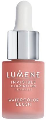 Lumene Invisible Illumination [Kaunis] Watercolor Blush 15Ml Coral Bloom