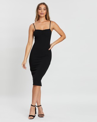 Atmos & Here Lily Ruched Front Slip Dress