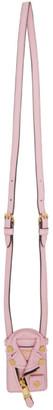 Moschino Pink Biker Jacket Keychain