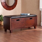 JCPenney Saxon Pine 2-Drawer Storage Bench