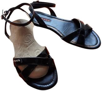 Prada Black Patent leather Sandals