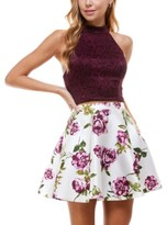 Thumbnail for your product : City Studios Juniors' Two-Piece Halter Dress