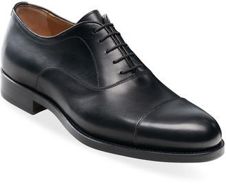 Magnanni Men's Jefferson Leather Cap-Toe Oxfords