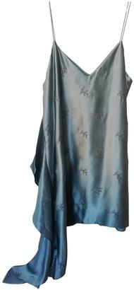 Cinq à Sept Blue Silk Dresses