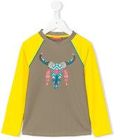 Sunuva - Buffalo print sweatshirt - kids - Polyamide - 2 yrs