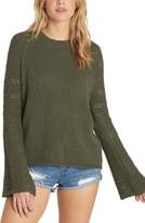 Billabong Women's Cozy Love Bell Sleeve Sweater