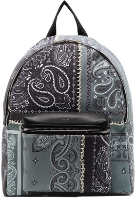 Amiri Bandana-Print Backpack