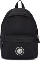 Versus Black Nylon Lion Backpack