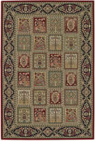 "D Style Beacon BEA181 Red 5'3"" x 7'7"" Area Rug"
