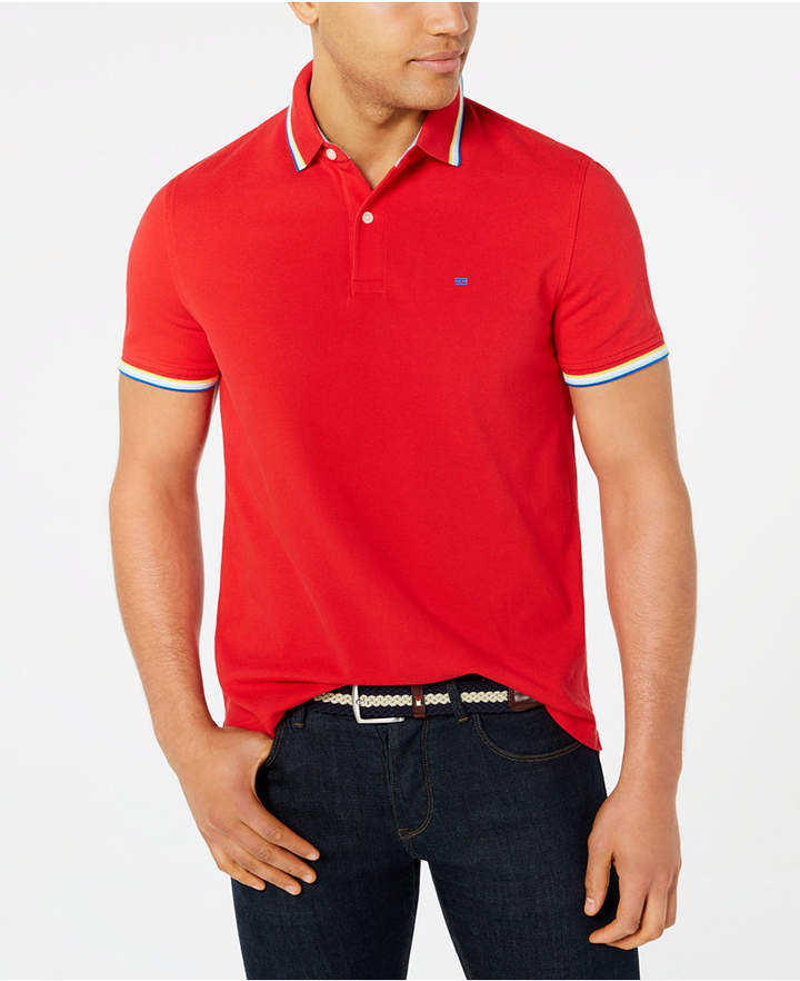3db2d876 Tommy Hilfiger Polo Shirts Red - ShopStyle