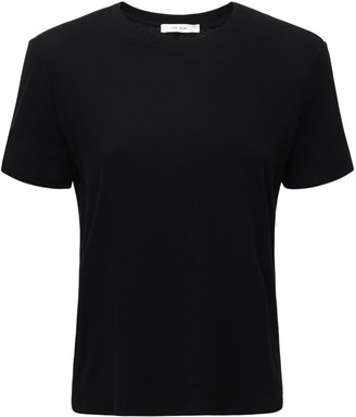 The Row Cotton & Cashmere Jersey T-shirt
