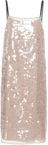 N°21 N21 Sequin Embellished Slip Dress