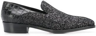 Giuseppe Zanotti Benson patent loafers