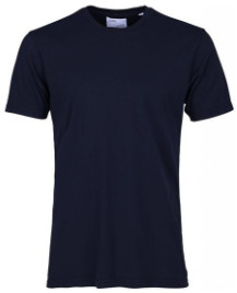 Colorful Standard - Navy Blue Classic Organic Tee - S - Blue