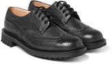Church's - Mcpherson Textured-leather Wingtip Brogues