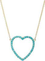 Jennifer Meyer Women's Cutout Heart Pendant Necklace