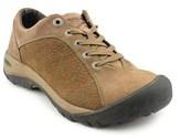 Keen Presidio Women Round Toe Leather Hiking Shoe.