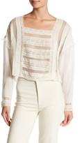 Tularosa Lola Long Sleeve Lace Blouse
