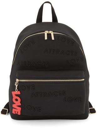Peace Love World Classic Tonal Print Backpack