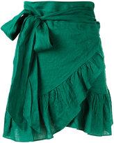 Etoile Isabel Marant ruffled skirt - women - Linen/Flax/Viscose - 36