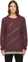 BLK DNM Burgundy 34 Sweater