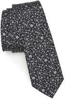 The Tie Bar Peninsula Floral Silk Tie