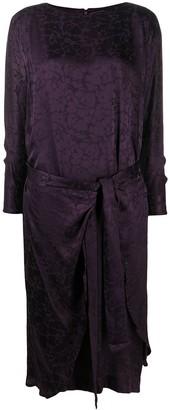 A.N.G.E.L.O. Vintage Cult 1990s Tie Waist Dress