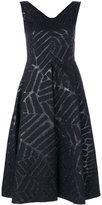 Talbot Runhof Notion dress - women - Polyester/Acetate/Cupro/Wool - 36