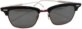Thom Browne Blue Metal Sunglasses