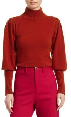 Sea Cailyn Cashmere Puff-Sleeve Sweater