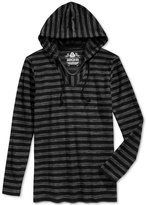 American Rag Men's Hermosa Baja French Terry Stitch-Stripe Long-Sleeve Hoodie T-Shirt, Only at Macy's